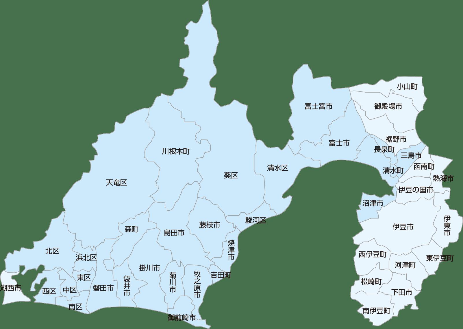 静岡県内実績